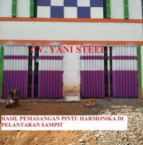 pintu harmonika banjar murah
